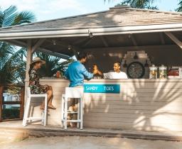 Sandy Toes bar