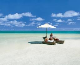 Pláž, LUX* Belle Mare Villa