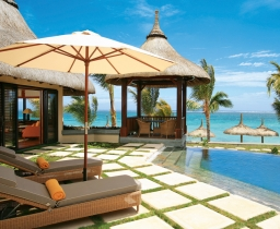 Beachfront Villa, LUX* Belle Mare Villas