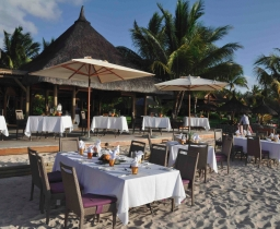 restaurace The Beach